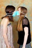 Two masks against Stock Photo