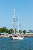 Two Mast Sailboat Stock Image