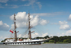 Two-masted Imagem de Stock