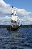 Two masted tall ship Stock Photography