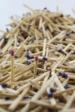 Two matches Royalty Free Stock Photography