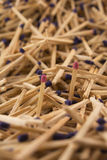 Two matches Royalty Free Stock Photo