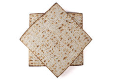 Two Matzot Stock Image
