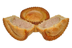 Two Meat Filled Pies Royalty Free Stock Photography