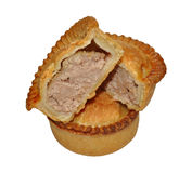 Two Meat Pies Stock Images