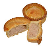 Two Meat Pies Royalty Free Stock Image