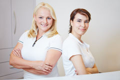 Two medical staff people Royalty Free Stock Image