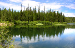 Two medicine lake Royalty Free Stock Photography