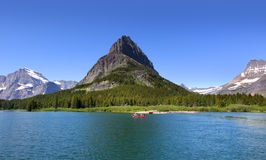 Two medicine lake Royalty Free Stock Image