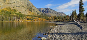 Two Medicine Lake, Glacier National Park Stock Image