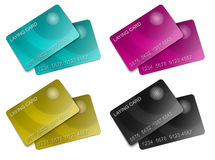 Two membership cmyk Card Stock Images