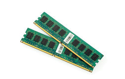Two memory modules Royalty Free Stock Image