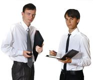 Two men Royalty Free Stock Images
