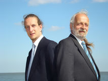 Two men. Royalty Free Stock Photography