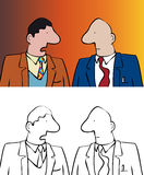 Two men Stock Photography