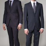 Two men in elegant suit Stock Photo