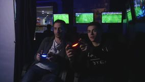 2017.12.14 Chernivtsi. Ukraine - Two mans gaming ps4
