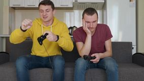 Two guys playing with each other