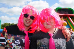 Two men at Race For Life event Stock Images