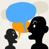 Two Men talk Royalty Free Stock Photo