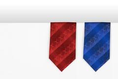 The two men tie Stock Image