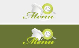 Two Menu Templates Royalty Free Stock Image