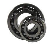Two metal ball bearings Royalty Free Stock Images