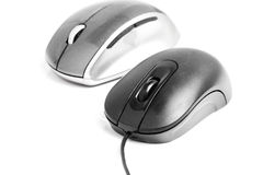 Two mice Royalty Free Stock Photos