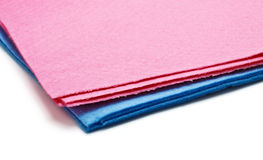 Two microfiber dusters Royalty Free Stock Photo
