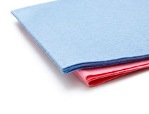 Two microfiber dusters Stock Photo