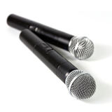 Two microphone wireless Royalty Free Stock Photography