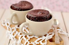 Chocolate Cup Cakes Stock Images