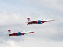 Two MiG-29 Swifts Royalty Free Stock Image