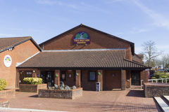 Two Mile Ash school building, Milton Keynes Royalty Free Stock Photography