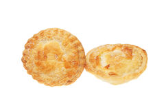 Two mince pies Stock Photo