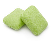 Two mint chewing gum Stock Image
