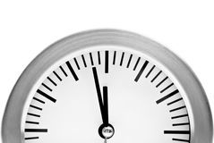 Two minutes to midnight Royalty Free Stock Photo