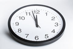 Two minutes to midnight Royalty Free Stock Photos