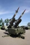 Two missiles launcher Stock Photos