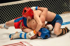 Two MMA fighter Royalty Free Stock Images