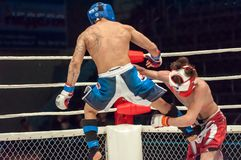 Two MMA fighter Royalty Free Stock Image