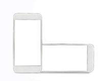 Two mobiles Royalty Free Stock Photography