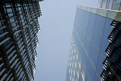 Two modern business buildings Royalty Free Stock Photography