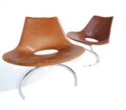 Two Modern Chairs Stock Photos