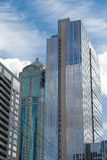 Two Modern Glass Towers Stock Photography