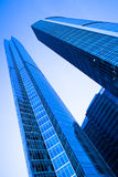 Two modern skyscrapers towers Royalty Free Stock Image
