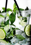 Two mojitos Stock Photos