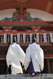 Two monks Royalty Free Stock Photos