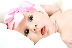 Two month old baby Royalty Free Stock Image