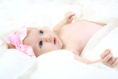 Two month old baby Royalty Free Stock Photography